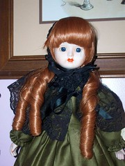 Her again! (moonandstarlite) Tags: blue ireland red irish baby green art danger silver hair real gold scotland doll dragon witch vampire ghost evil scottish spell haunted creepy redhead collection fairy faery haunting enchanted possessed genie fae djinn entity