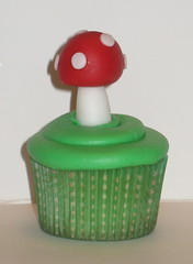 Mushroom cupcakes (two parts sugar) Tags: cakes cake la cupcakes losangeles super mario cupcake orangecounty oc bros