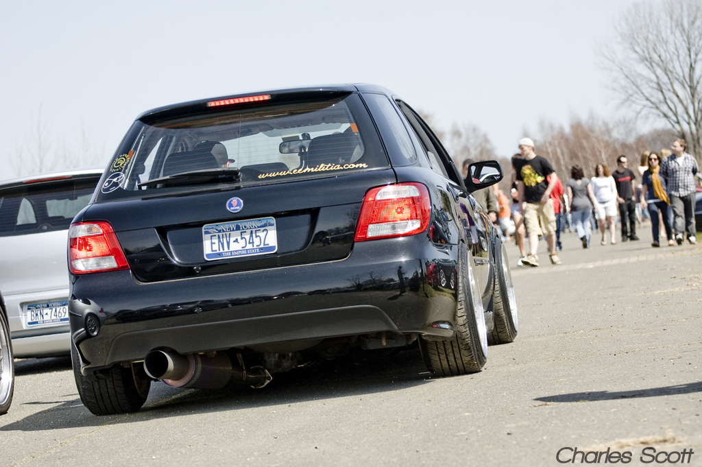 Fitted Saab 9-2X | StanceNation™ // Form > Function