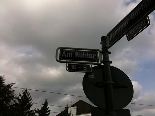 Verrückt, nur eine Straße weiter