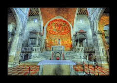 Main altar (Uros P.hotography) Tags: road park trip travel venice sea sky italy cloud tourism church beautiful cemetery saint architecture clouds port wooden amazing nice nikon perfect italia tour view cathedral superb roman pavement path mosaic unique basilica awesome gothic sigma style grand tourist ceiling via sacra journey empire era stunning excellent christianity lovely incredible 1020 hdr breathtaking adriatic austrian baptistry aquileia patriarch d300 pagans poppo photomatix natissa romanesquegothic slod300 cemeteryofthefallen hermangoras marquad