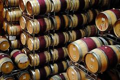 Peju Barrel Room (Christopher.F Photography) Tags: california vacation nikon wine barrels winery napavalley napa peju pejuwinery d3000