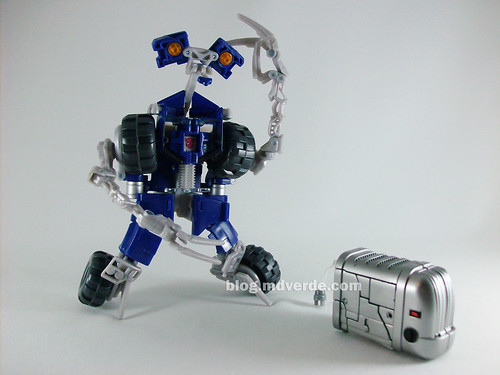 Transformers Ejector RotF Scout - modo alterno