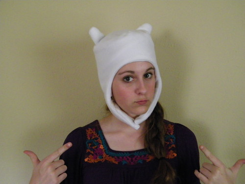 finn hat adventure time