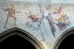 Seven deadly sins, Raunds, Northamptonshire medieval painting