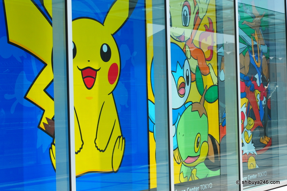 The Pokemon Center at Hamamatsucho.