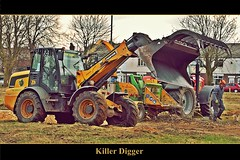 Killer Digger (ihughes22) Tags: jcb sthelens digger liverpoolecho rainhill superphotographer nikondigitalmagic nikond40 picturesworthathousandwords worldmasterpieceaward liverpoolphotographers mygearandme ihughes22