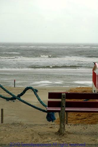 Panchina sul Mare del Nord