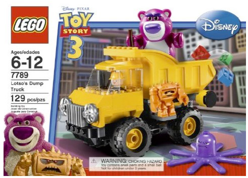 LEGO 7789 Lotso's Dump Truck from Toy Story 3