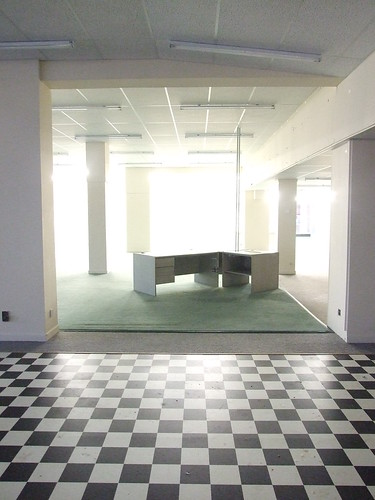 Empty Allied Carpets store, Worthing