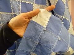 Verso do tecido holandês