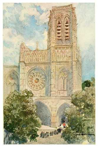 008- Catedral de Soissons-Vanished halls and cathedrals of France 1917- Edwards George Wharton