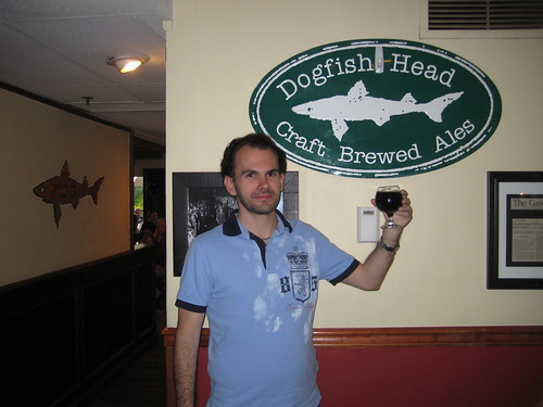 Nikos Triadis at the Dogfish Head Alehouse