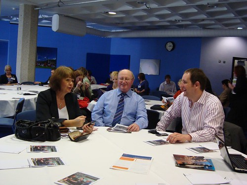 An image from a session the collab tools project ran at JISC 2010