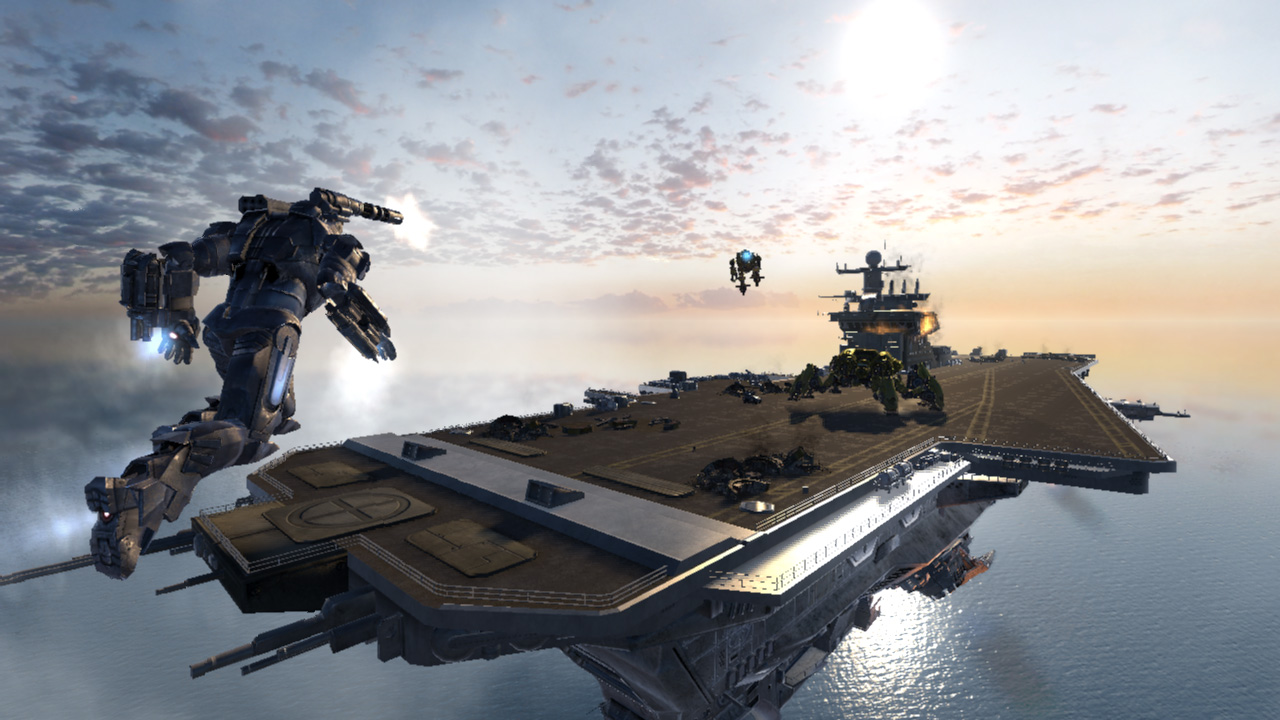 Iron Man 2 Game aircraft carrier