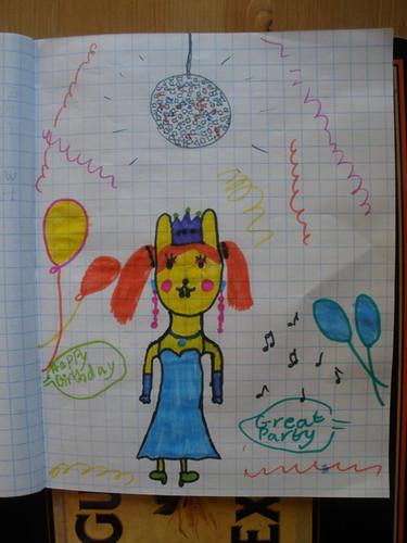 H's disco bunny
