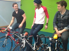 Sony Ericsson's Pocket TV sets up a gruelling ride for Scouting For Girls (Pocket TV) Tags: sonyericsson pockettv scoutingforgirls ndubz mattedmondson