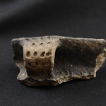 "<b>1969.13AM1.3.1A-n/a</b><br/> Rim Sherd w/Handle; Oneota. Flat Iron Terrace  <a href=""//farm5.static.flickr.com/4035/4528079275_ac0b65bfff_o.jpg"" title=""High res"">∝</a>"