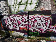Slack (Shake well.) Tags: abandoned manchester graffiti canal warehouse slack salford slacker cruel veso