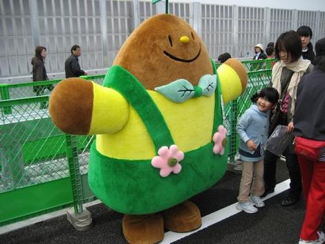 広島高速 開通イベント ゆるキャラ