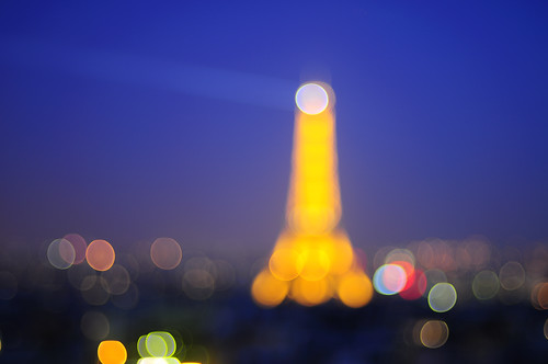 Eiffel Tower Bookeh...