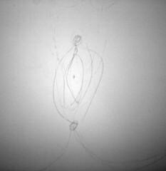 The vagina on the stall door (quinn.anya) Tags: graffiti drawing doodle vagina regensteinlibrary universityofchciago blevelmensroom