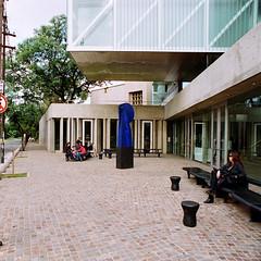 Museo Provincial de Bellas Artes Emilio Caraffa, Crdoba Capital, Provincia de Crdoba, Argentina (Federico Kulekdjian Fotografa) Tags: film argentina iso100 arquitectura nikon fuji fujifilm museo 20mm f3 pelcula f3hp afnikkor20mmf28d federicokulekdjian