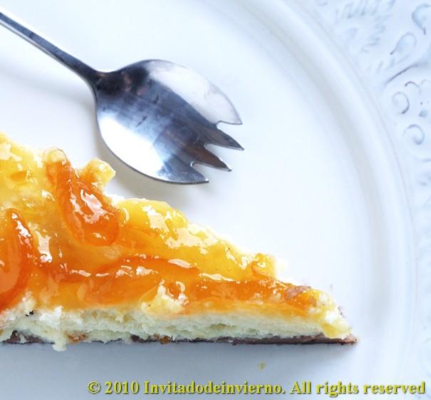 Limequat-ricotta tart 4