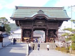 Grande porte du temple