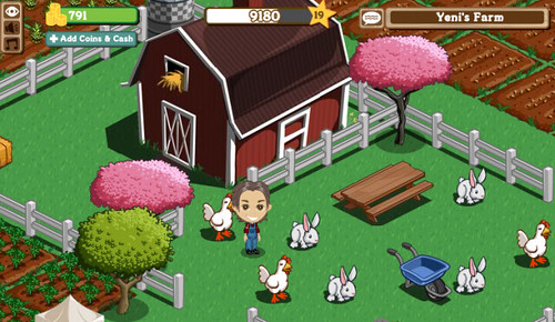 Por que o Farmville é tão popular?