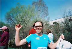 Jenny After Finishing Horsetooth Half Marathon