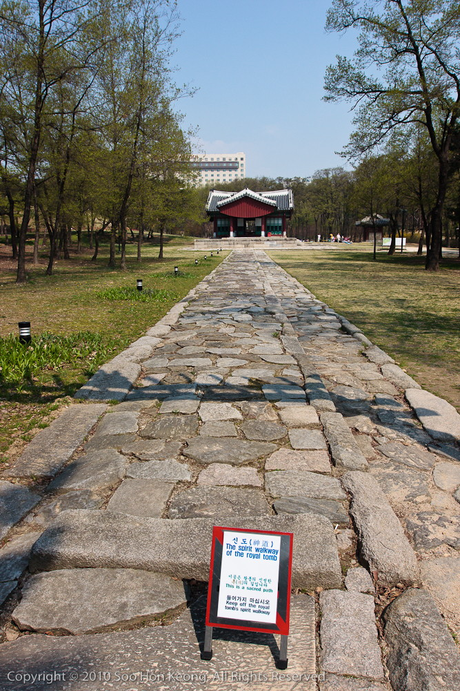 The Spirit Walkway @ Seolleung & Jeongneung Royal Tombs , Seoul, Korea