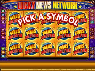 free Lucky News Network gamble bonus game