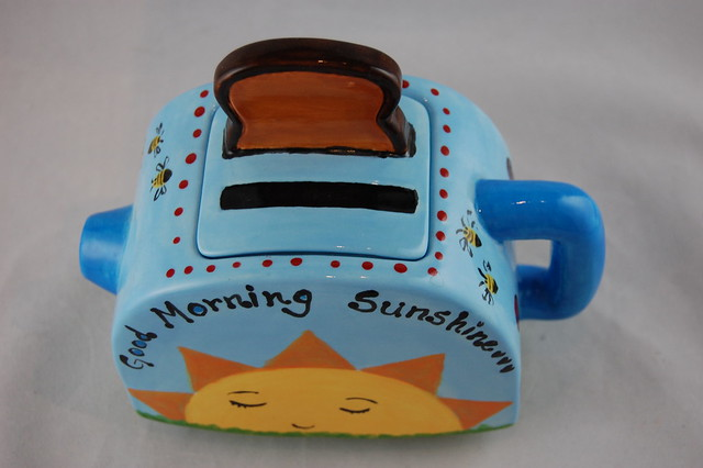 Good Morning Sunshine Toaster Teapot