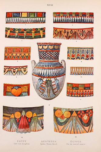 005-Egipto fin del Nuevo Imperio-Ornament two thousand decorative motifs…1924-Helmuth Theodor Bossert
