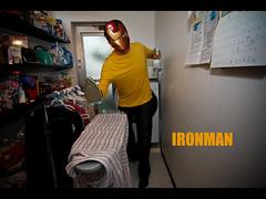 365/30 IRONMAN (Frollojpn) Tags: home yellow japan canon fun photo iron mask ironman laundry 7d superhero fav 365 proyect cloth marvel 1020mm prop ironing starch