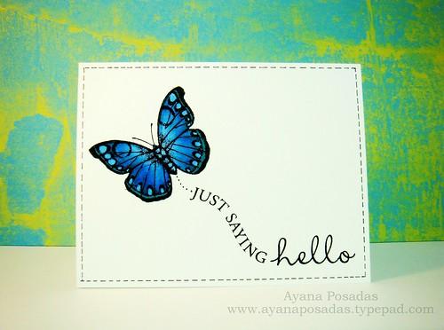 Copic Butterflies (4)