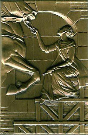 Brookgreen Gardens membership medal obverse