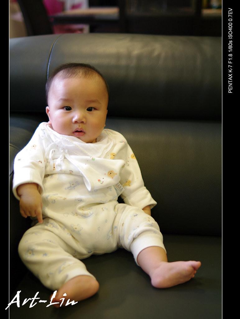 寶寶五個月的點點滴滴~^^