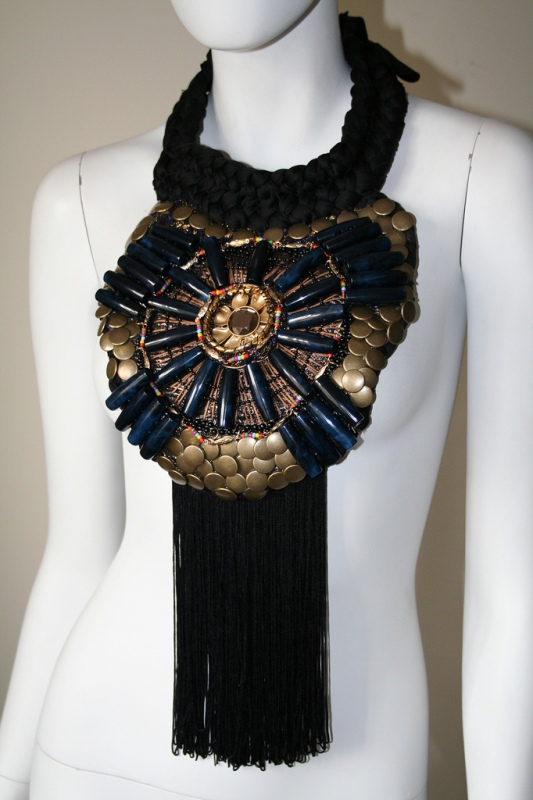 Anita Quansah reclaimed jewelry tribal trashion 16