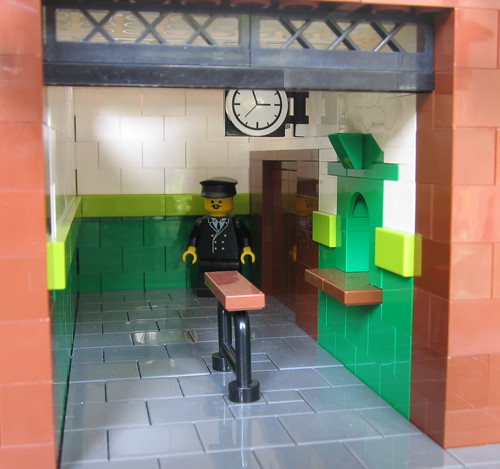 Leslie Green station, made from Lego?! | District Dave's London