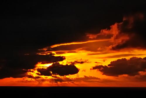 フリー写真素材, 自然・風景, 夕日・夕焼け・日没, 空, 雲, デンマーク王国,
