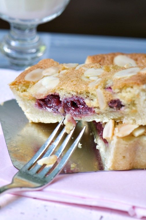 Cherry Almond Tart bite