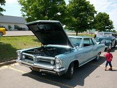 6 car Show (proudnamvet........Patriot Guard Riders) Tags: classic pontiac bonneville