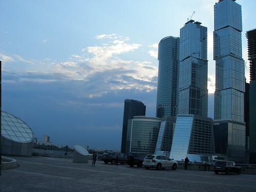 Москва-сити. вечер