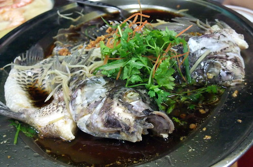 Steam Tilapia with Soy Sauce