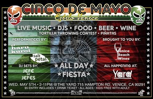 The Yard Cinco de Mayo