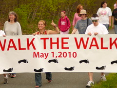 walking for healing and peace