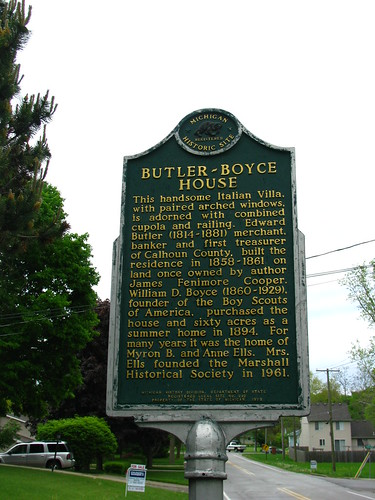 Butler-Boyce House Historical Marker