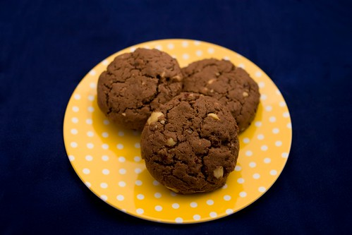 Chocolate Cinnamon Hazelnut Cookies